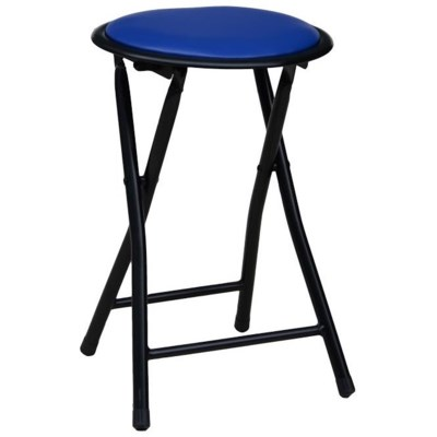 Blue Stool without back (10)
