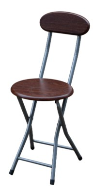 Wooden Folding Stool with back (6)