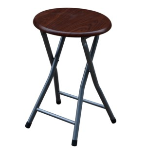 Espresso - Wooden Folding Stool without Back ( 10 )
