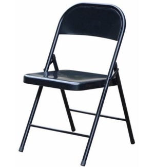 Black - Metal Folding Chair (6)