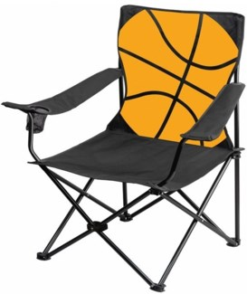 Basketball-Large Camping Chair ( 6 )
