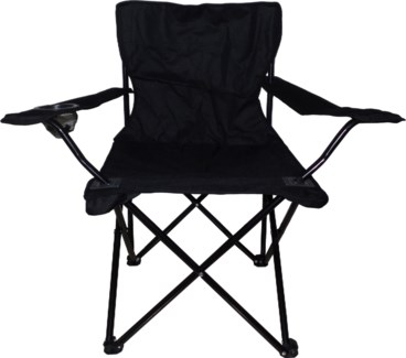 Black - Large Camping Chair (6)