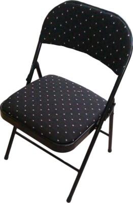 Black - Folding Fabric Cushion Chair (6)