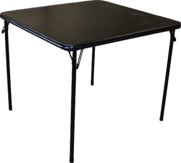 3 FT. Black - Square Folding Cushion Table (3)