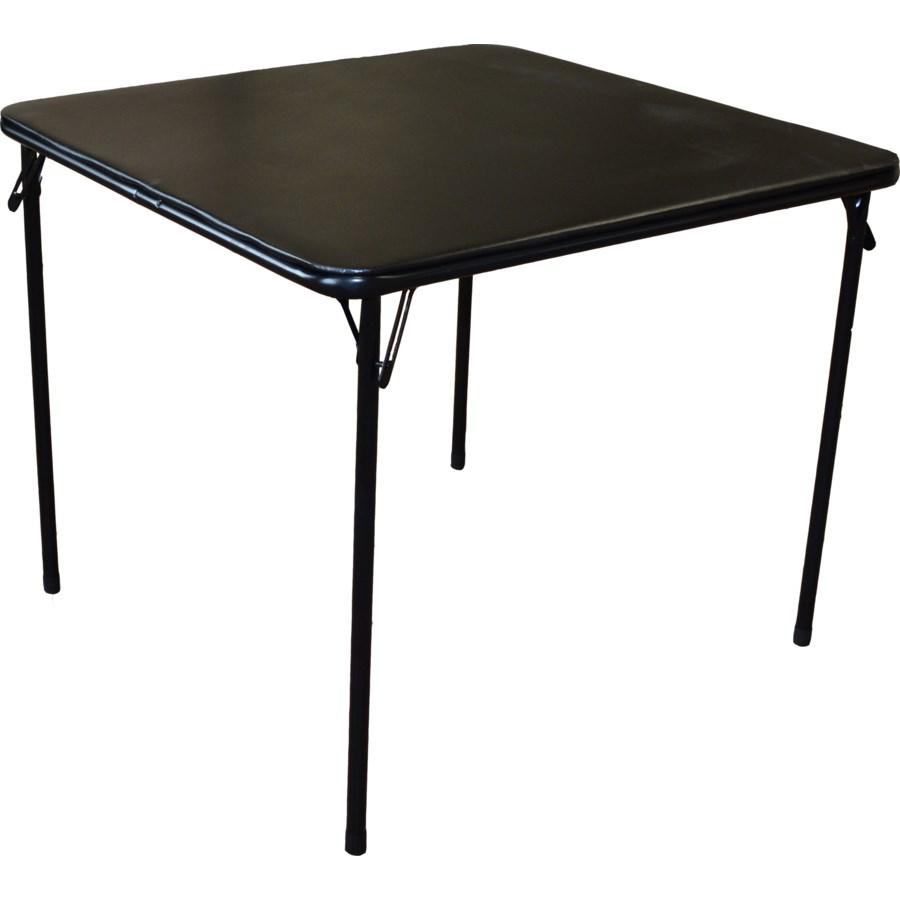 3 FT. Black - Square Folding Cushion Table (3)