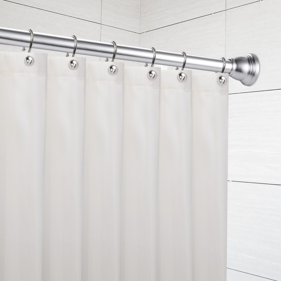 """Foundry Shower Tension Rod 42""""-72"""" Brushed Nickel (12)"""
