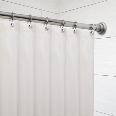 "Deco Shower Tension Rod 42""-72"" Brushed Nickel (12)"