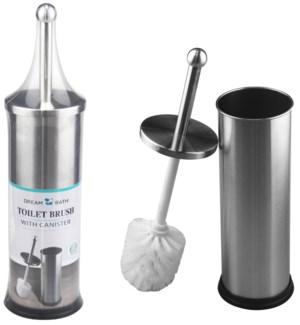 Satin Nickel - Stainless Steel Toilet Brush (12)