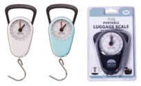 Mechanical Luggage Scale with a tape ( 12 /60) 3 Colors Assorted