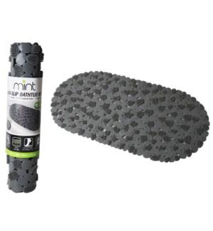 Grey - PVC Pebble Bathtub Mat (24)