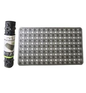 Grey - PVC Bubble Bathtub Mat (24)