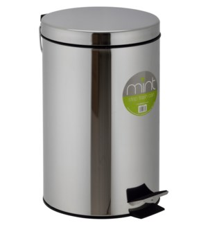 5L Chrome Garbage Can (6)
