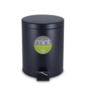 5L Matte Black Garbage Can (6)