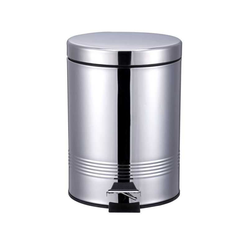 S.S. Chrome Garbage Can 5Liter (6)