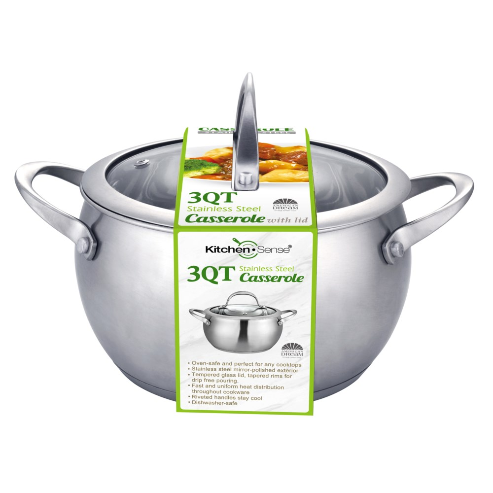 3QT S.S. Stock Pot with Tempered Glass Lid (6)
