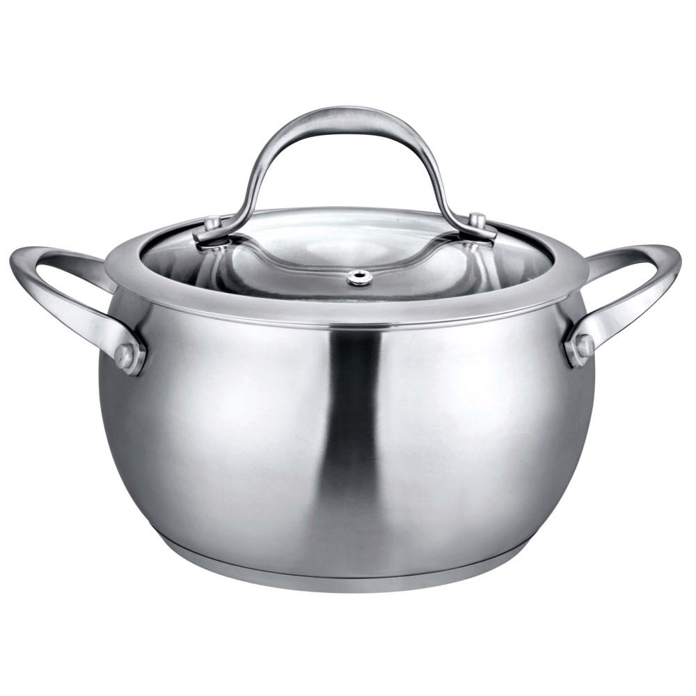 6QT S.S. Stock Pot with Tempered Glass Lid (4)
