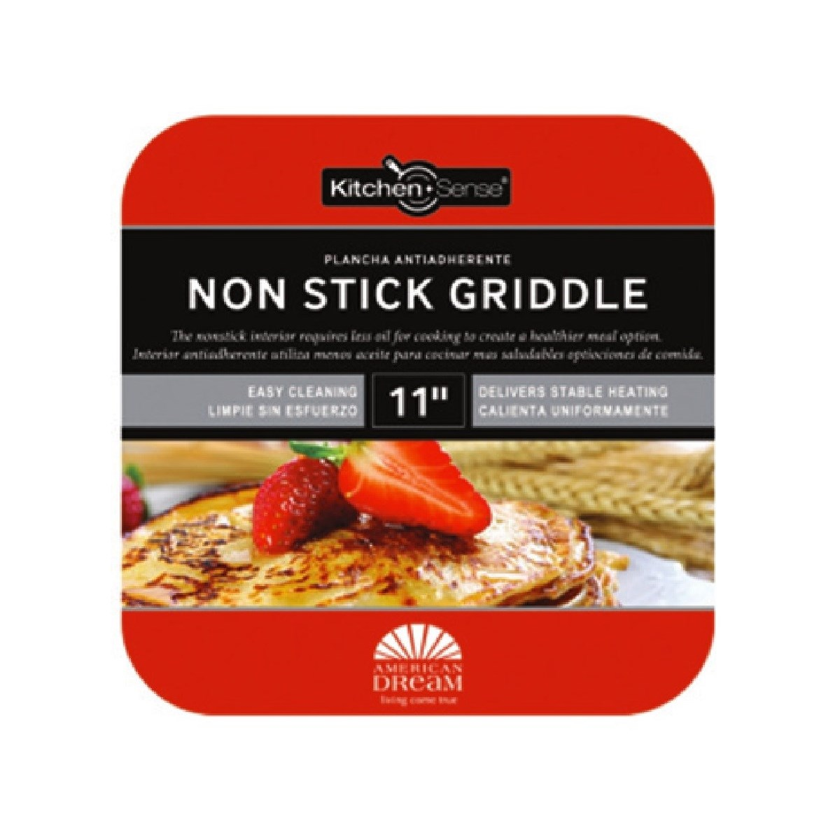 "11"" Non-stick Griddle ( 8 )"