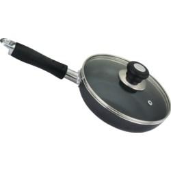 """10.25"""" Non Stick Fry Pan w/glass lid ( 8 )"""