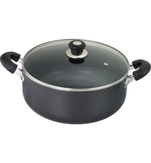 5Qt Non-Stick Sauce Pot w/ Glass Lid ( 6 )