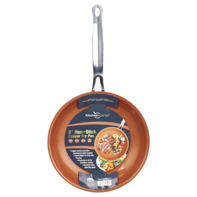 """8"""" Copper Fry Pan with Wide Edge (6)"""
