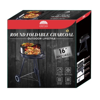 18-inch X 18-inch Foldable Charcoal Grill (1)