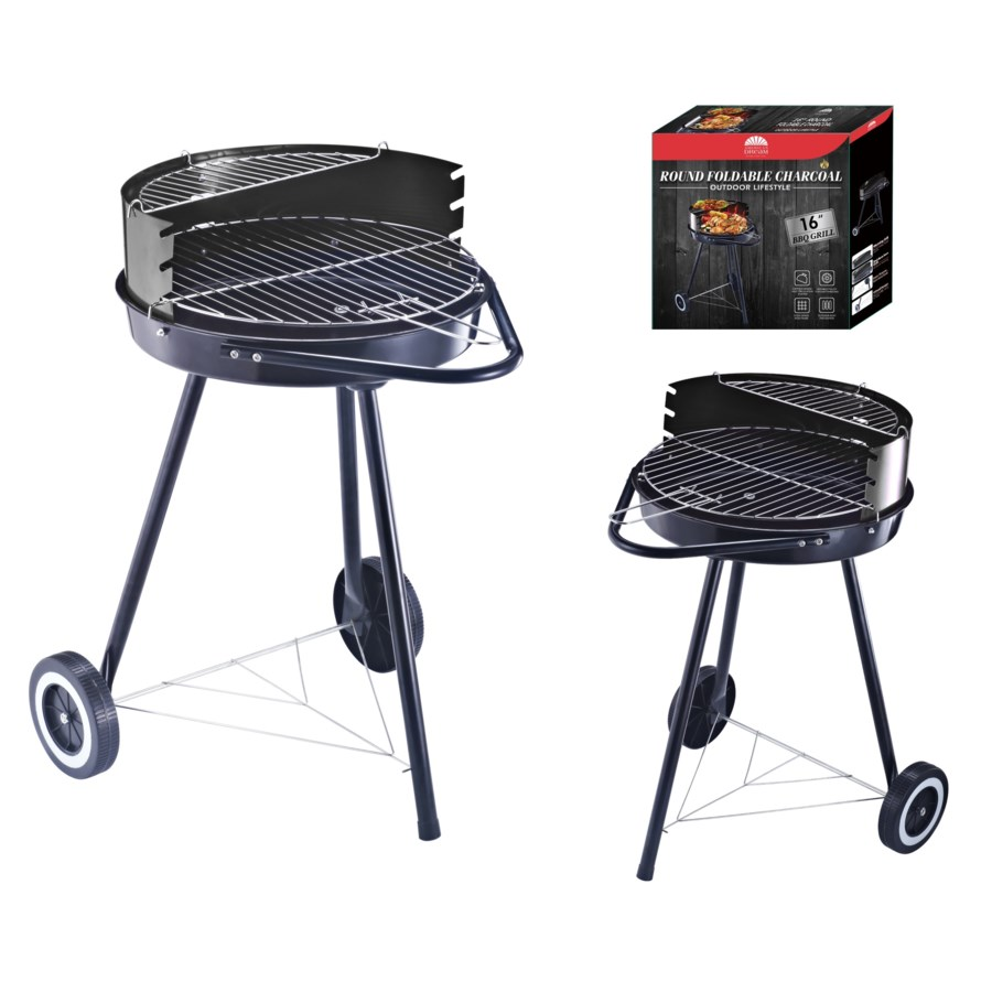 """18"""" x 18"""" Foldable Charcoal Grill (1)"""
