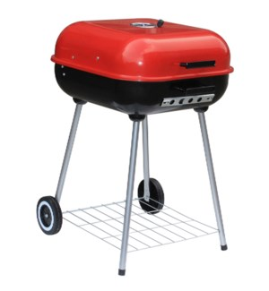 22-inch X 22-inch Charcoal Grill with Lid and wheels (1)
