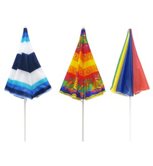 7.25 FT, Beach Umbrella ( 6 )