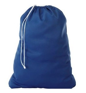 Jumbo Nylon Laundry Bag (144) 3 Colors Assorted