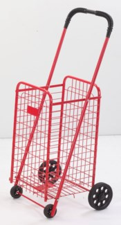 Red - Small Shopping Carts (4)