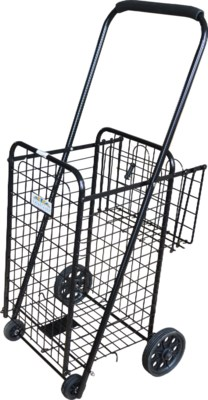 Black - Small Cart W/Basket(4)