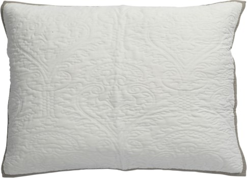 Aiden-Dutch Euro-Sham-White