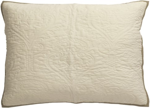 Aiden-Dutch Euro-Sham-Cream