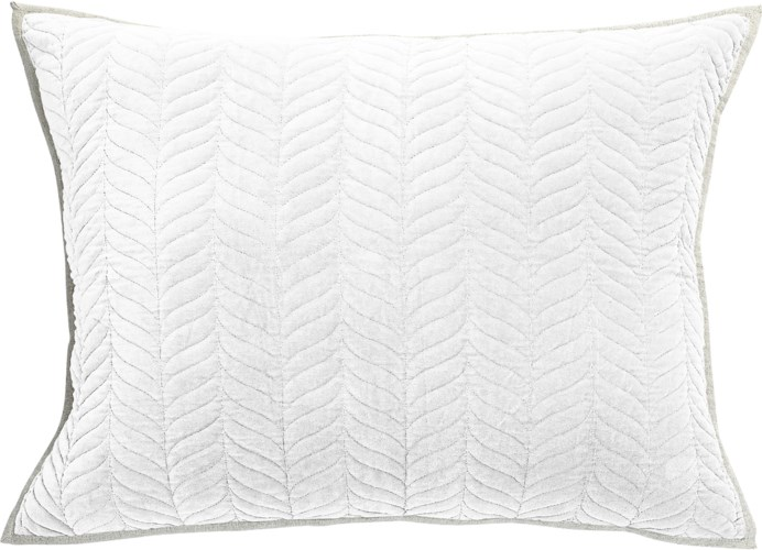Cora-Dutch Euro-Sham-White