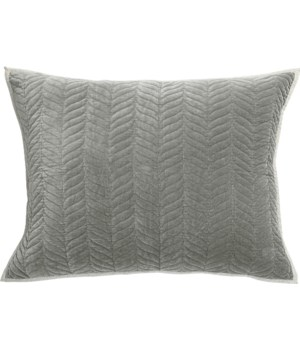 Cora-Dutch Euro-Sham-Grey