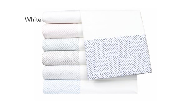 Evan-Cal King-Sheet Set-White