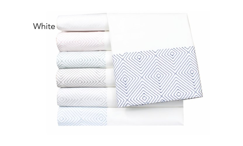 Evan-Queen-Sheet Set-White