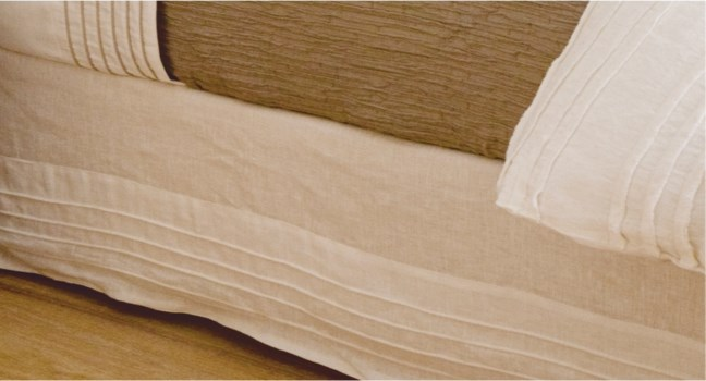 Gordan-King-Bed Skirt-White
