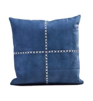 "Cushion Laser Cowhide HARLEY 20"" Blue"