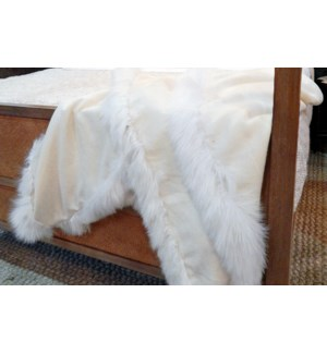 Alpaca Trimmed Alpaca Throws
