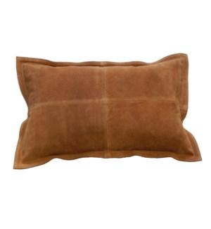 """Cushion Cowhide Camel 15x23"""""""