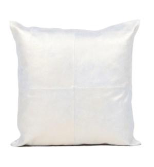 """Cushion Cowhide Gold 20x20"""""""