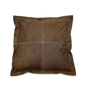 "Cushion Cowhide Vintage Chestnut 20"""