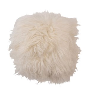 "Cushion Longwool Icelandic 16"" WHITE"