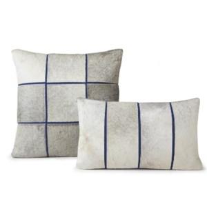 """Cushion Laser Cowhide SEGMENTS  20"""" Blue"""