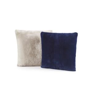 """22x22"""" Shearling Cushions"""
