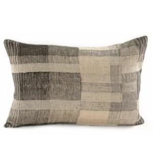 "Mojave Linen/Silk Cushion 16x22"""