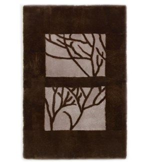 Design Rug Shearling Branches 4x6'