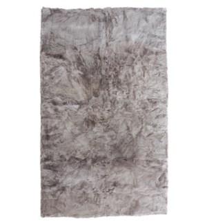 Design Rug Alpaca 4x6' Cool Grey