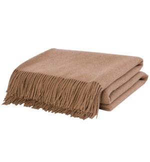 Throw Camel Basketweave CAMEL